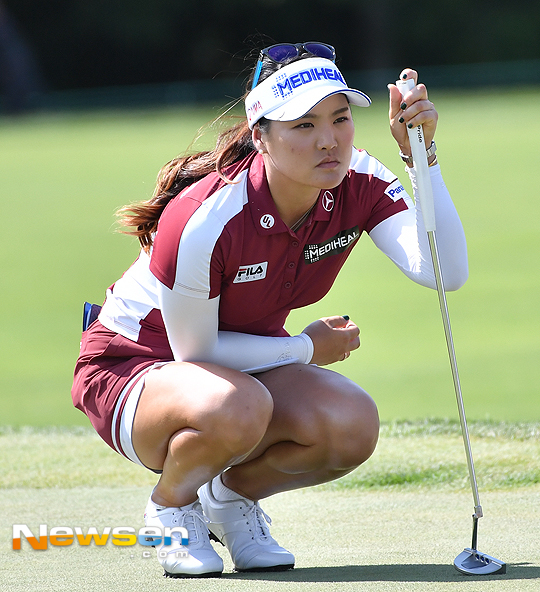 Blogging About The Korean Women Golfers On